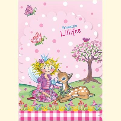 Prinzessin lillifee einladungskarten ed ii - Lillifee kinderzimmer ...